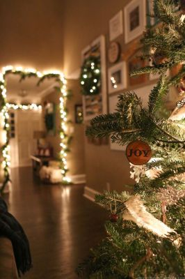 Come see how we decked out our home for the holidays with our cozy Christmas home decor! MountainModernLife.com: