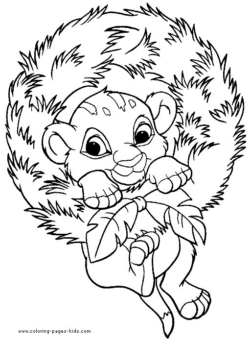 christmas colors coloring pages and color pictures on pinterest