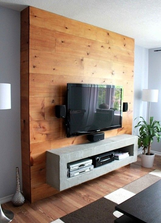 My TV Wall Mount A Runner Up In The HGTV Canada DIY
