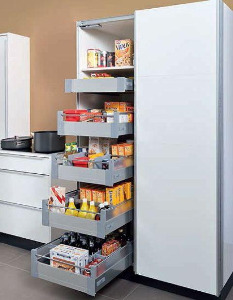 Hettich - El almacenamiento de alimentos: