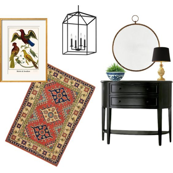 Foyer 2 by michele-wesdock on Polyvore featuring interior, interiors, interior…: