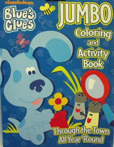 blues clues coloring and activities on pinterest