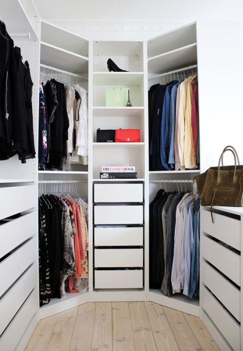 Closet Design Ideas, Cupboards, Cabinets, Wardrobes, Locker, Room Makeover, Design Interior.:
