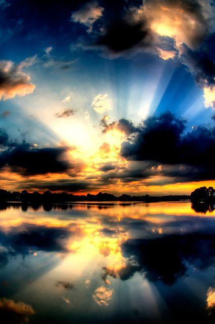 Glorious Sunset Photograph: