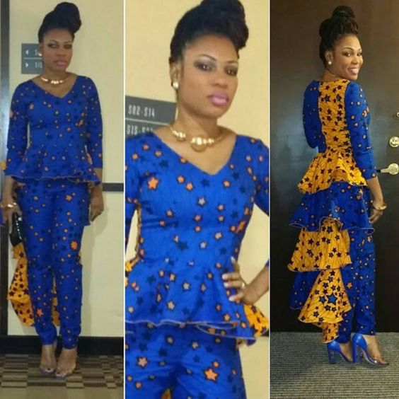 Check Out This Creative Ankara Design for Ladies - http://www.dezangozone.com/2016/01/check-out-this-creative-ankara-design.html DeZango Fashion Zone: