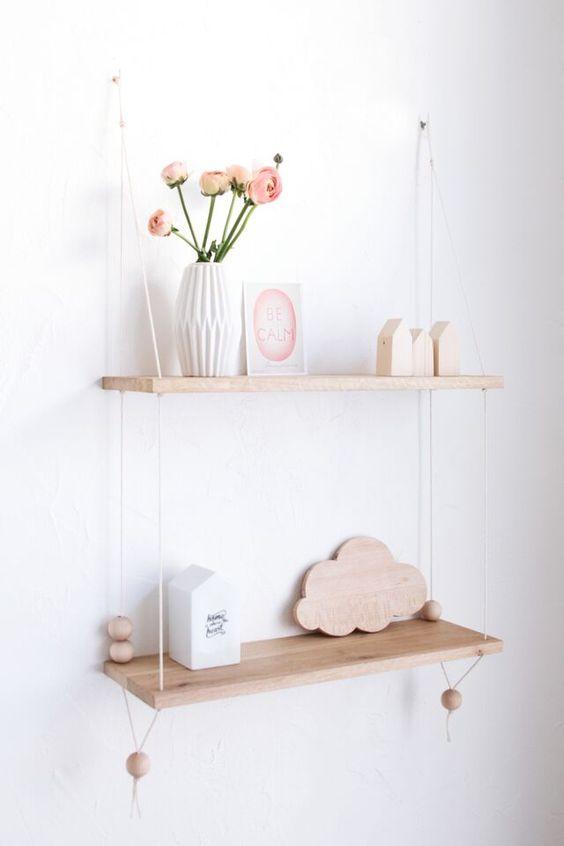 Étagères Inspirations scnadinaves Hello Blogzine , décoration scandinave , scandinavian home: