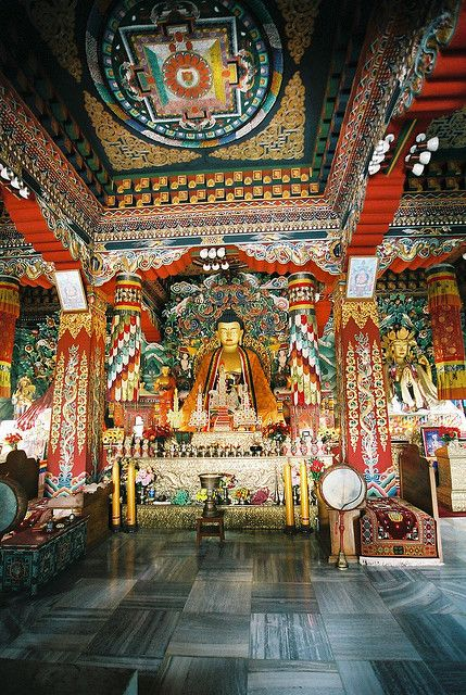Buddhist Altars In The Home Buddhist Altar Bhutan