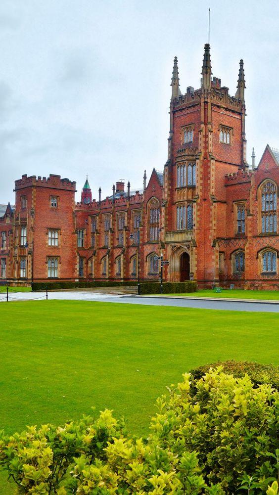 Queens University Belfast Northern Ireland Cities ll