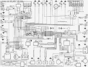 HARLEY DAVIDSON 199193 FLSTC FLHS WIRING DIAGRAM Service Manual free download, schematics