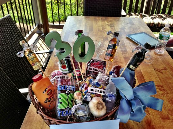 30th Birthday Gifts Gift Baskets And On