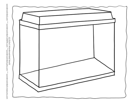 aquarium fish tanks and coloring pages on pinterest