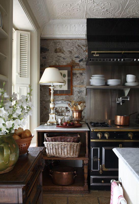 Great kitchen from susanburnsdesign.com #WilliamsSonoma #dreamkitchen: