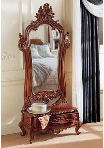 /Design Toscano Victorian/ Dressing Mirror: