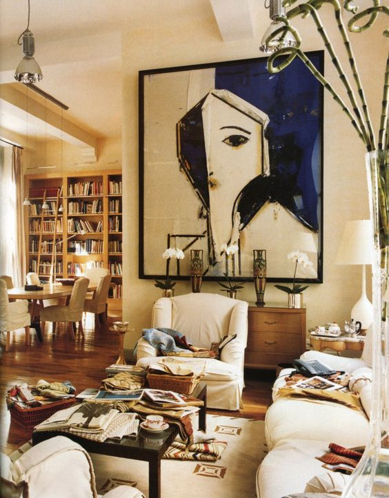 Art Living Rooms And Large Art On Pinterest