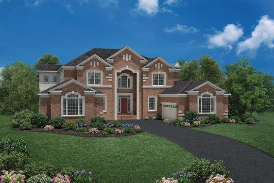 Toll Brothers McCallan Model At Cattail Overlook MD