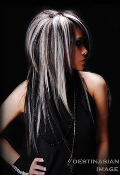 14 wonderful brunette hairstyles with blonde highlights silver blonde white hair and search