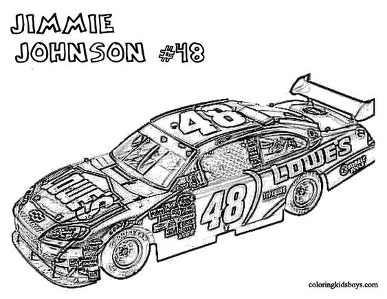 nascar coloring pages and coloring on pinterest