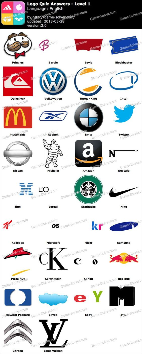 Logo Quiz Level 1 juicy9fj Pinterest Logos and Quizes
