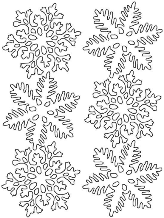coloring pages coloring and snowflakes on pinterest