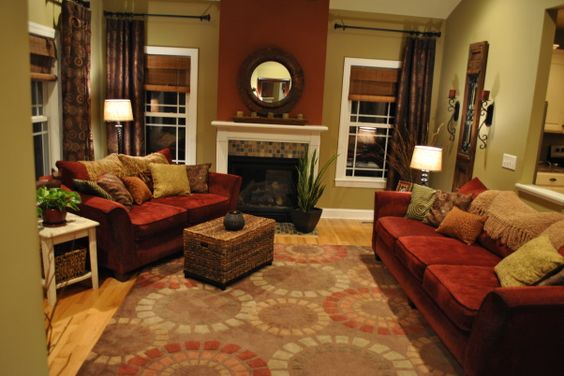Open Concept, Living Room Designs And Warm On Pinterest