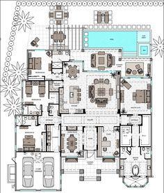 Single Story 4 Bedroom Open Floor Plans Bedroom Style Ideas