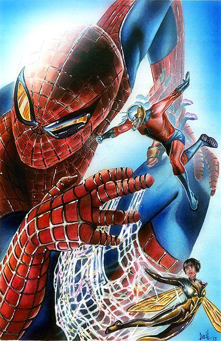 Spider-Man vs Ant-Man & Wasp - Cecil Porter | Spider-Man ...