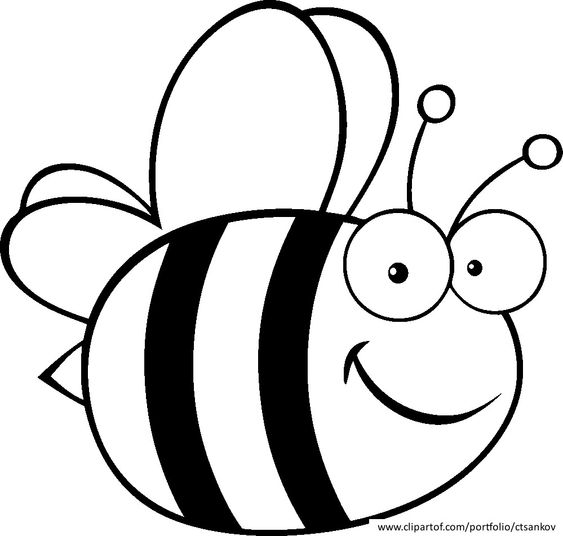 bees coloring pages and bumble bees on pinterest