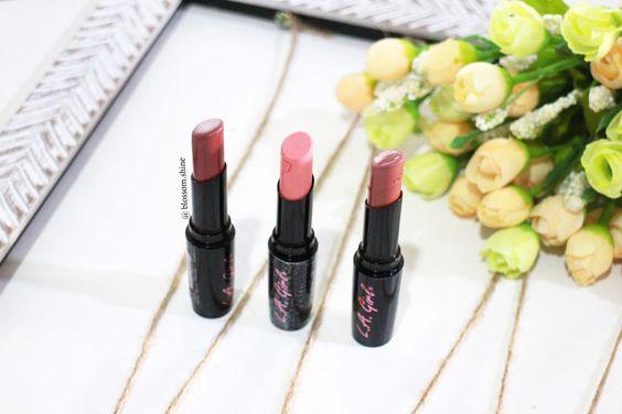 La Girl Line Art Matte Eyeliner Review : La girl indonesia makeup review blossom shine