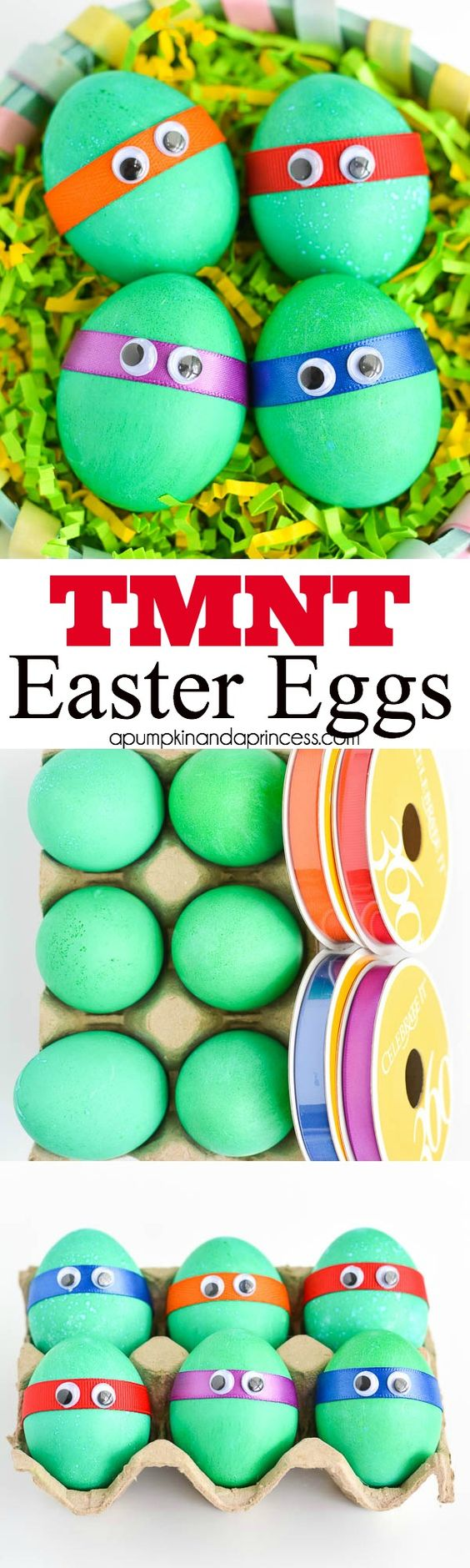 Dyed-TMNT-Easter-Eggs: