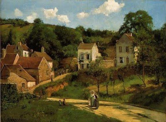 Camille Pissarro, French Impressionist (2):