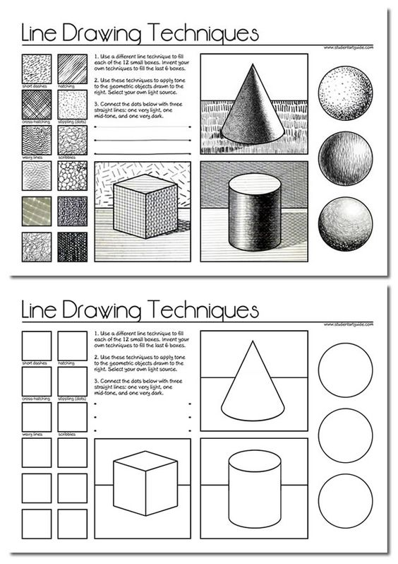Line Drawings Worksheets And Teacher Resources