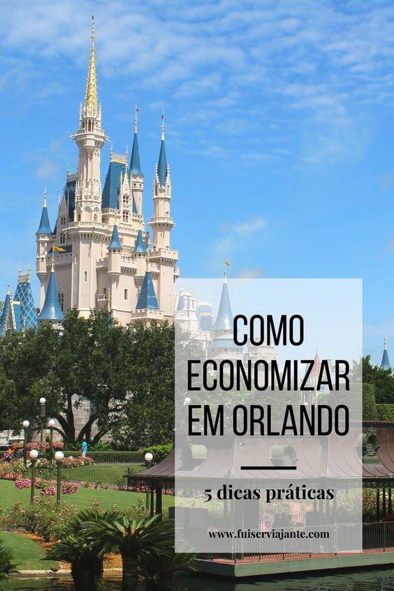 Como economizar em Orlando