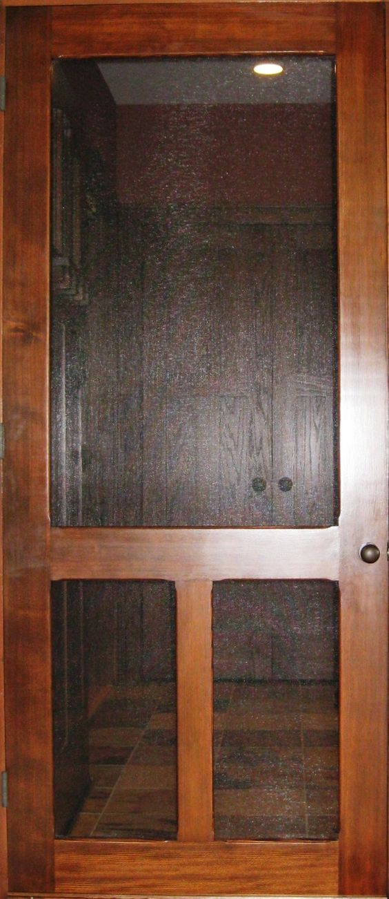 Traditional Screen & Storm Door Old Fashion Model www