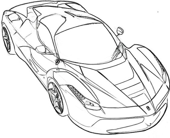 ferrari spider coloring and coloring pages on pinterest