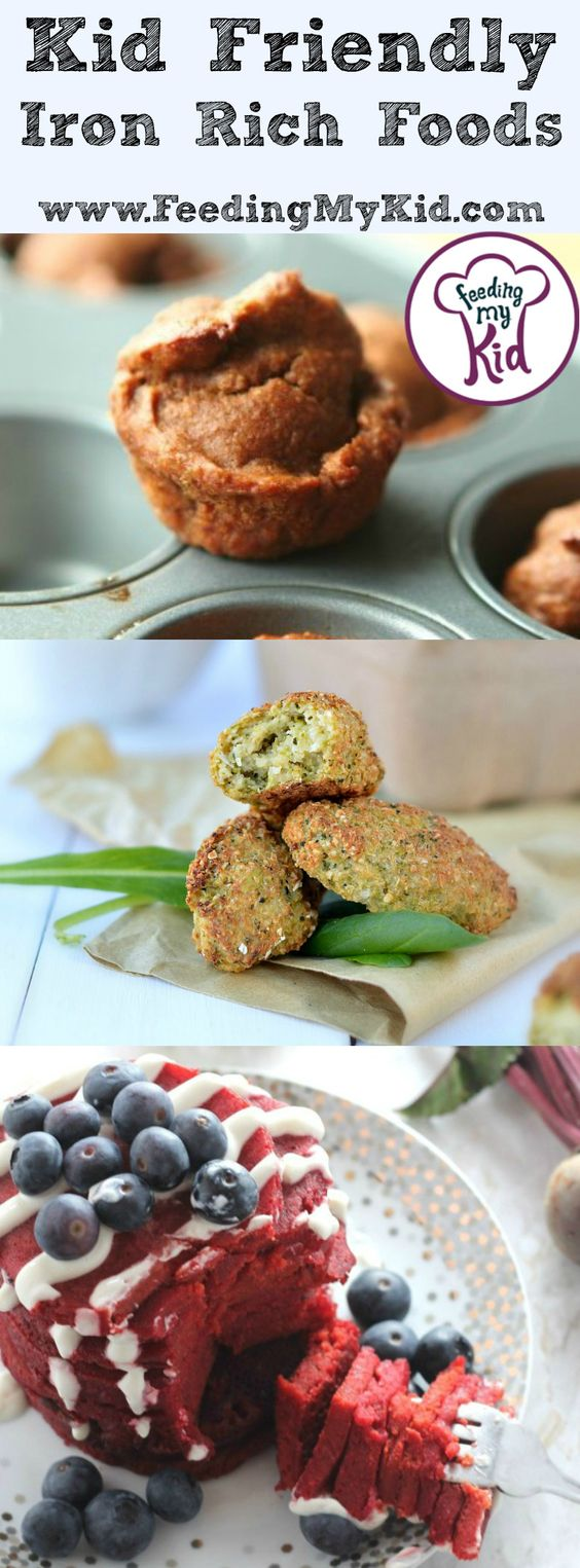 Kid Friendly Iron Rich Foods Cream cheeses, Quiche cups
