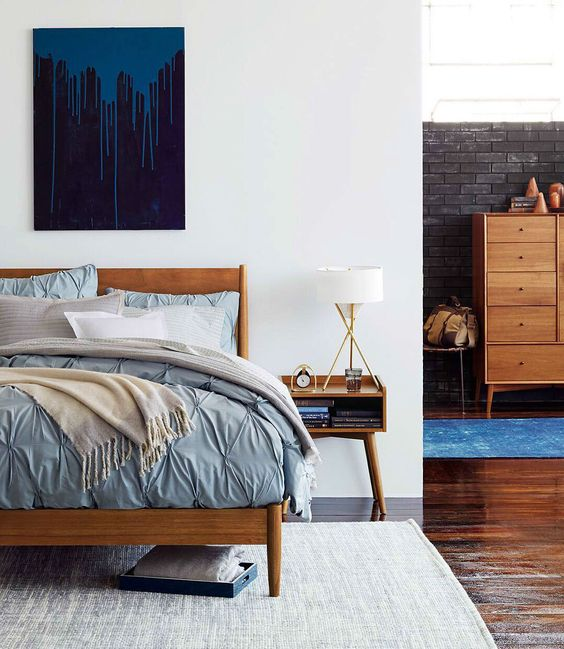 Modern bedroom furniture that suits almost any style. The west elm mid-century bedroom furniture collection includes beds, headboards, bed frames, nightstands, dressers, wardrobes, benches + more. Streamlined style for sleeping.: