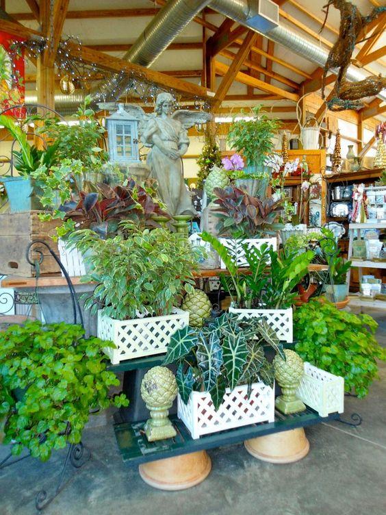 Garden center displays, Gardens and Virginia on Pinterest