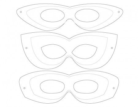 It's just an image of Superhero Printable Masks for black