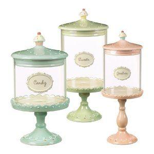 Desserts Cupcake Pedestal Candy Jars