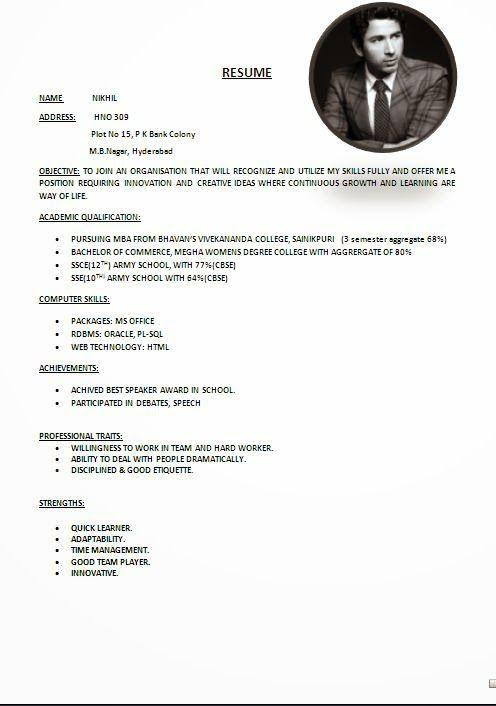 resume biodata resume sample chaosz resume biodata sample form