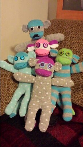 Sock monkeys: