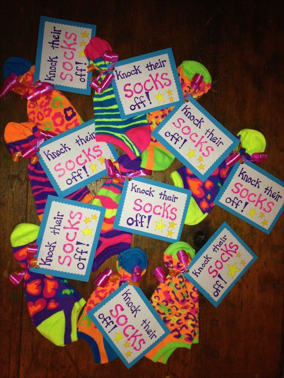 Knock Their Socks Off One Of The Items In Gift Bags For