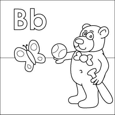 letter b coloring pages and bats on pinterest