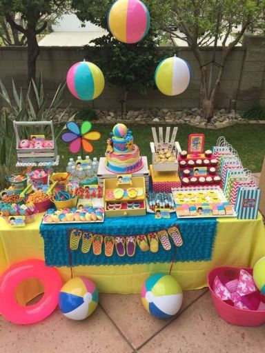 Swimming/Pool/Summer Party Summer Party Ideas | Photo 2 of 36 | Catch My Party: