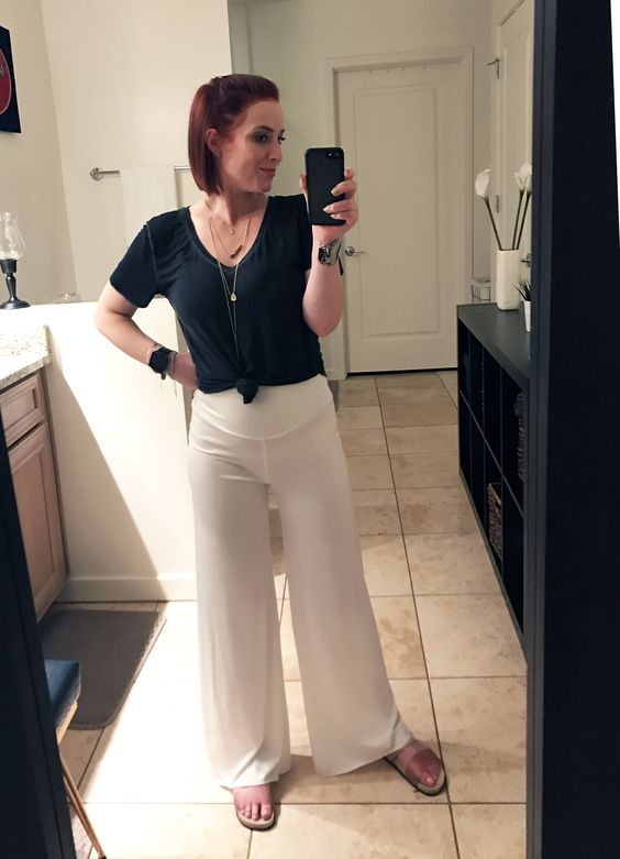 Perfect vacation pants.  See how I hemmed them on theluxicon.co