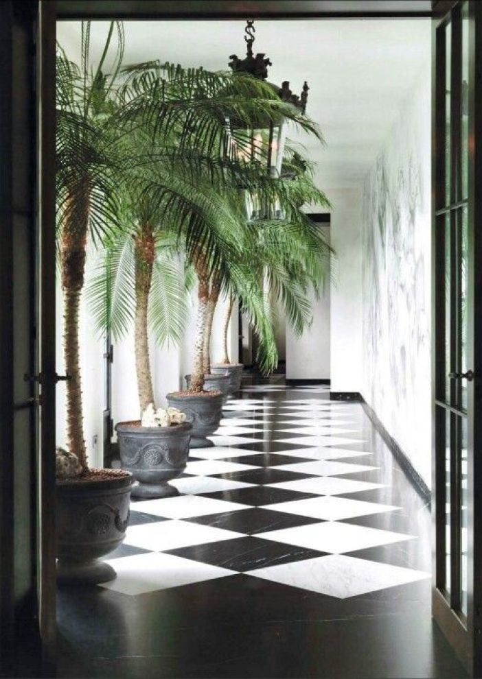 FUTURE Tropical Chic interior decor with a touch of classical elemts: