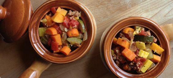 Paleo Crockpot Minestrone Soup | Our Paleo Life: