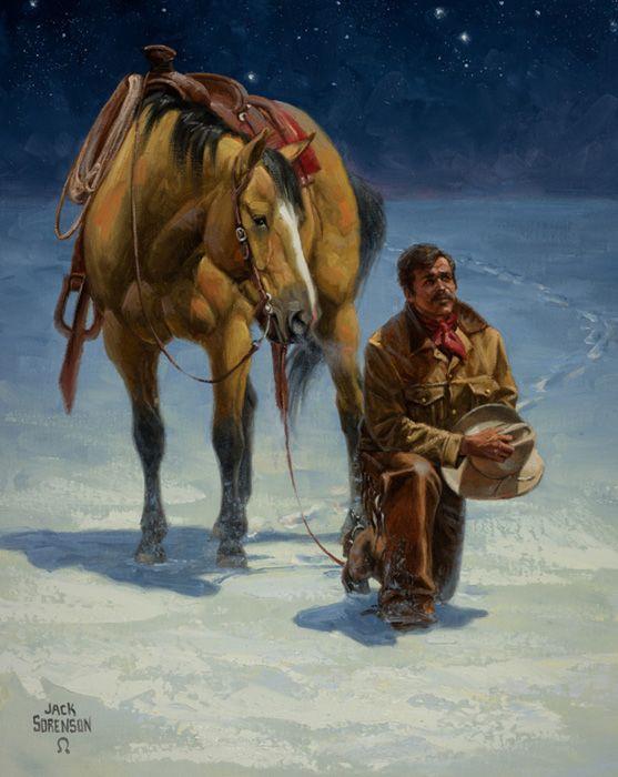 Christmas Prayer Cowboy Christmas And Prayer On Pinterest