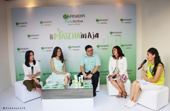 Garnier Matcha Series Launching