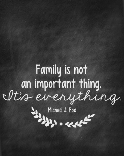 Free Family Values Print  